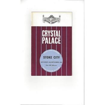 Crystal Palace Home Football Programmes