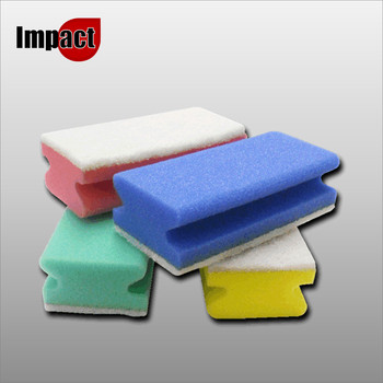Easigrip Foam Backed Scours, colour coded - Pk10