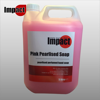 Pink Pearl Hand Soap, 5ltr