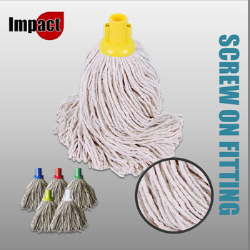 PY Mop Heads, Screw on - Blue, Red, Green or Yellow
