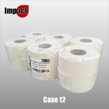 Mini Jumbo Toilet Rolls - Case 12
