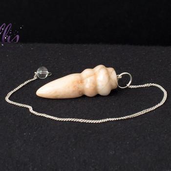 Moonstone Carved Pendulum