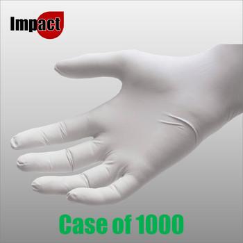 Nitrile Disposable Gloves Powder Free, White - Box 1000