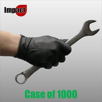 Nitrile Disposable Gloves Powder Free, Black - Box 1000