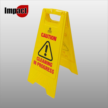 Wet Floor Sign, A Frame