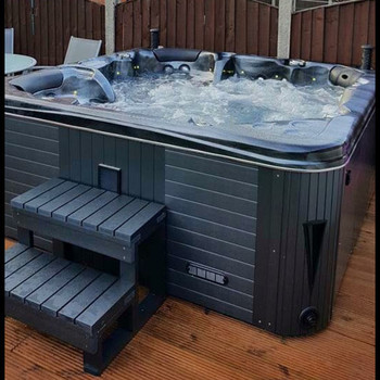 Hot Tub Wooden Like PVC Steps