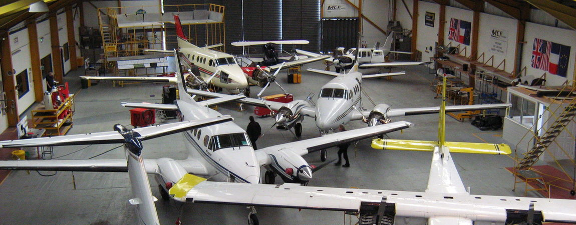 King Air Maintenance, Air Maintenance