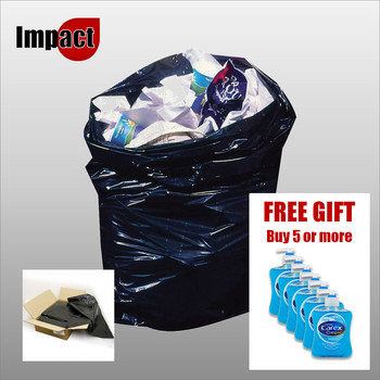 Standard bin bags, black - Case 200 + FREE GIFT if you buy 5 cases or more