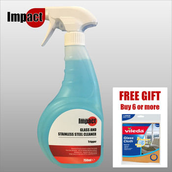 Impact Glass Cleaner + FREE GIFT when you buy 6 or more