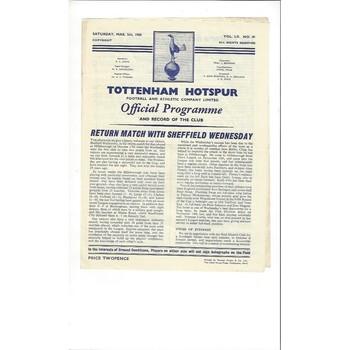 Sheffield Wednesday Football Programmes