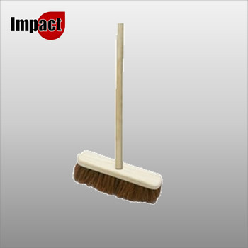 "12"" Coco Brush Complete with Handle"