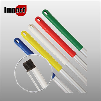 Mop Handle, Screw On - Blue, Red, Green or Yellow