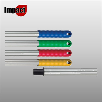 Mop Handle, Push On - Blue, Red, Green or Yellow Copy