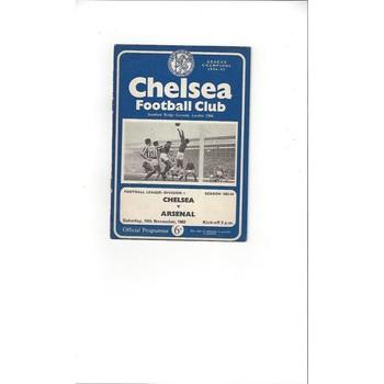 Chelsea v Arsenal 1963/64