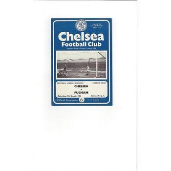 Chelsea v Fulham 1963/64