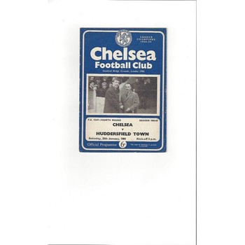 Chelsea v Huddersfield Town FA Cup 1963/64