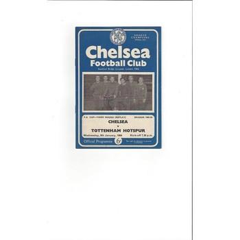 Chelsea v Tottenham Hotspur FA Cup 1963/64