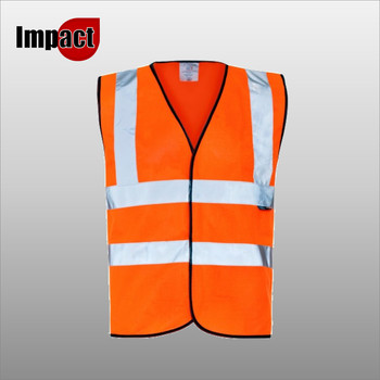 High Vis Vest 2 Band - Orange