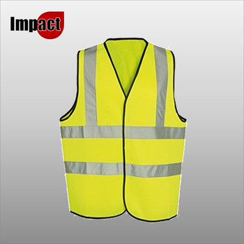 High Vis Vest 2 Band - Yellow