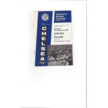 Chelsea v Fulham 1964/65