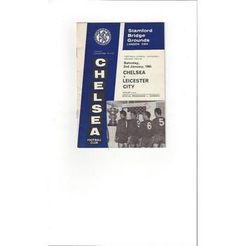 Chelsea v Leicester City 1964/65