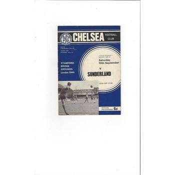 Chelsea v Sunderland 1966/67
