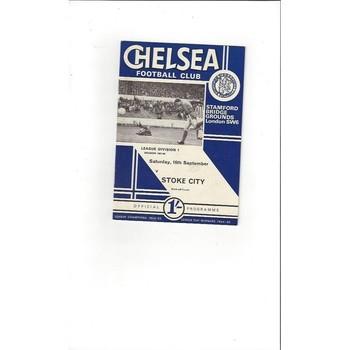 Chelsea v Stoke City 1967/68