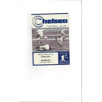 Chelsea v Burnley 1968/69