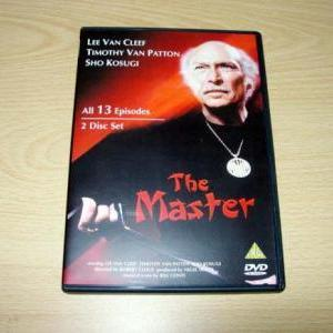 THE MASTER. LEE VAN CLEEF (1984)13-PART MINI-SERIES