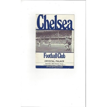 Crystal Palace Away Football Programmes