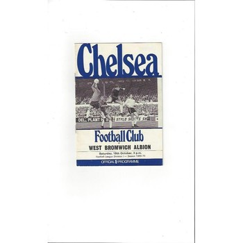 Chelsea v West Bromwich Albion 1969/70