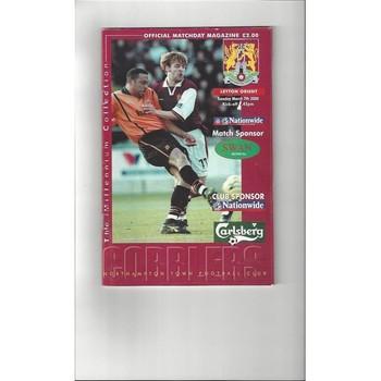1999/00 Northampton Town v Leyton Orient Football Programme