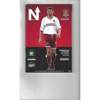 2003/04 Northampton Town v Leyton Orient Football Programme
