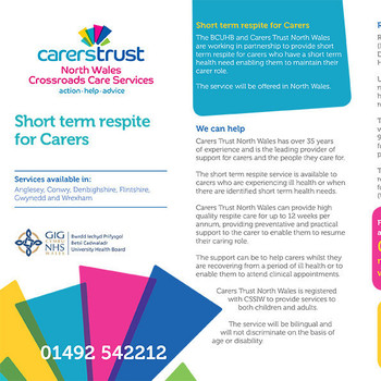 Short Term Respite For Carers With A Health Need