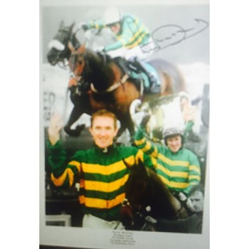 A P McCoy Signed Photo Montage