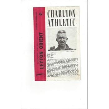 Charlton Athletic v Leyton Orient 1961/62