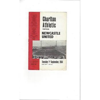 Charlton Athletic v Newcastle United 1964/65