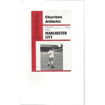 Charlton Athletic v Manchester City 1965/66