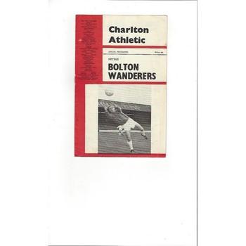 Charlton Athletic Home Football Programmes