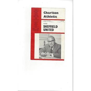 Charlton Athletic v Sheffield United FA Cup 1966/67