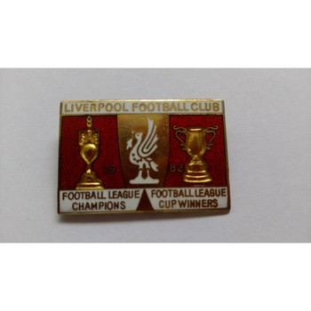 Liverpool Metal Badge - League & League Cup Winners