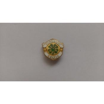 Celtic Metal Football Badge