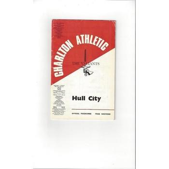 Charlton Athletic v Hull City 1967/68 + League Review