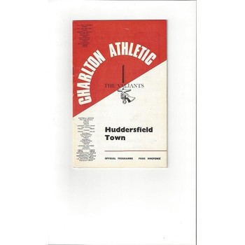 Charlton Athletic v Huddersfield Town 1967/68 + League Review