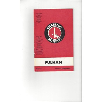 Charlton Athletic v Fulham 1968/69 + League Review
