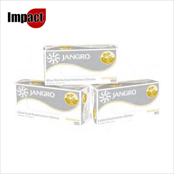 Jangro Vinyl Examination Gloves - Small