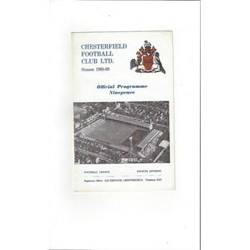 Chesterfield v Swansea 1968/69