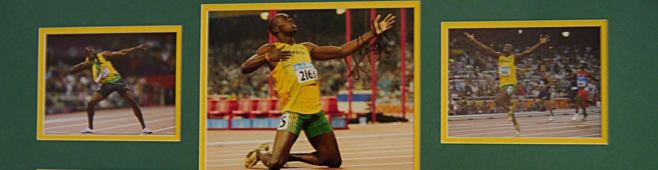 Usain Bolt Signed Photographs