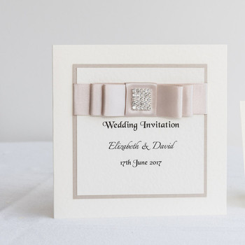 Wedding Invitation - Traditonal Fold -  Elegance