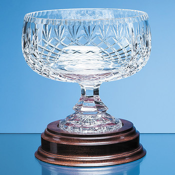 Lead Crystal Footed Bowl (18cm)
